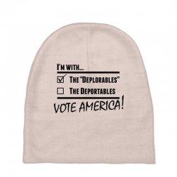 Deplorables America Baby Beanies | Artistshot