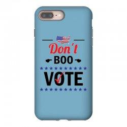 Don't Boo Vote 01 iPhone 8 Plus Case | Artistshot
