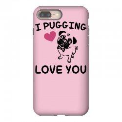 love you  pug iPhone 8 Plus Case | Artistshot