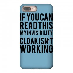 the magic t shirt invisible cloak humor top dope hipster geek indie funny gift iPhone 8 Plus Case | Artistshot