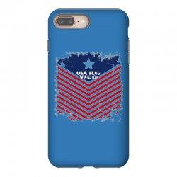 USA Flag Vector iPhone 8 Plus Case | Artistshot