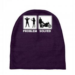 funny biker Baby Beanies   Artistshot