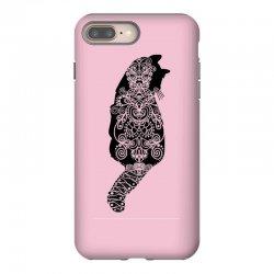 cats black iPhone 8 Plus Case | Artistshot