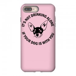 funny drinking dog iPhone 8 Plus Case | Artistshot