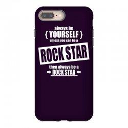 funny rock star iPhone 8 Plus Case | Artistshot