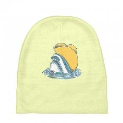 funny hat shark Baby Beanies   Artistshot