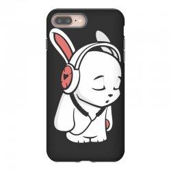 love music cartoon bunny iPhone 8 Plus Case | Artistshot