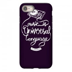 music is the universal language of mankind iPhone 8 Case | Artistshot