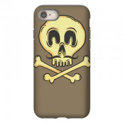 funny skull mustache iPhone 8 Case | Artistshot