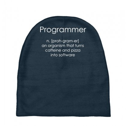 Programmer Coder Software Engineer Loose Baby Beanies Designed By Gematees