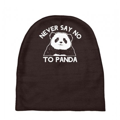 Never Say No To Panda Baby Beanies Designed By Gematees