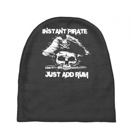 Instant Pirate Just Add Rum Baby Beanies Designed By Gematees
