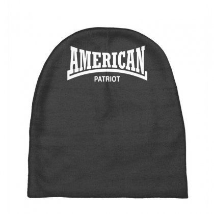 American Patriot Baby Beanies Designed By Gematees