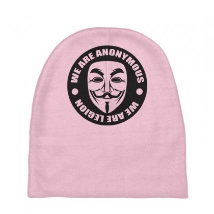 We Are Anonymous Baby Beanies Designed By Gematees