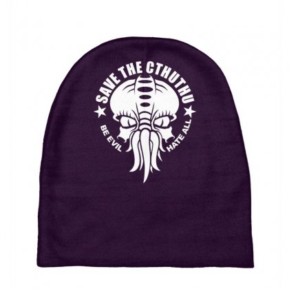 Save The Cthulhu Baby Beanies Designed By Gematees