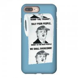 funny donald trump toilet paper iPhone 8 Plus Case   Artistshot