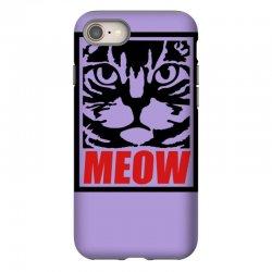 funny cat meow iPhone 8 Case | Artistshot
