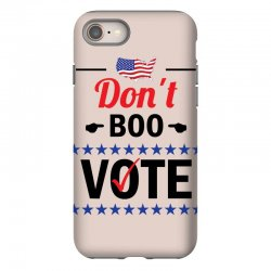 Dont Boo. Vote. iPhone 8 Case   Artistshot