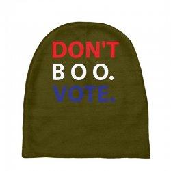 Dont Boo. Vote. Baby Beanies | Artistshot