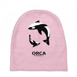 ORCA FAMILY Baby Beanies | Artistshot
