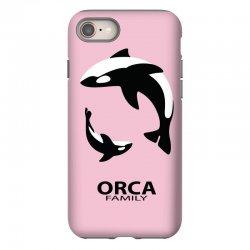 ORCA FAMILY iPhone 8 Case | Artistshot