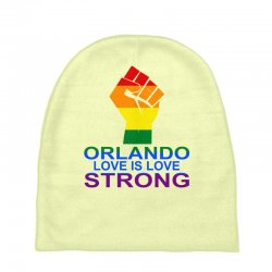 Love Is Love, Orlando Strong Baby Beanies | Artistshot