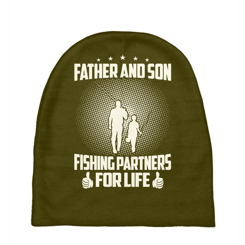 bc5316bc044 Custom Father And Son Fishing Partners For Life - Fathers Day Baby ...