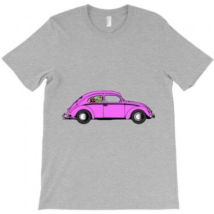 Vw Beetle T-shirt Designed By Rardesign