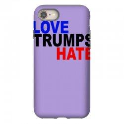 love trumps hate vote for hillary iPhone 8 Case | Artistshot