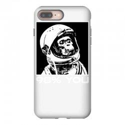 funny monkey astronomy iPhone 8 Plus Case | Artistshot
