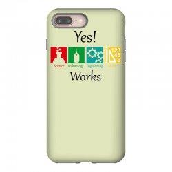 yes work science iPhone 8 Plus Case | Artistshot