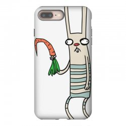 funny rabbit bunny holding a carrot iPhone 8 Plus Case | Artistshot