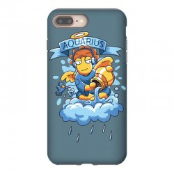 FUNNY ZODIAC SIGNS AQUARIUS iPhone 8 Plus Case | Artistshot