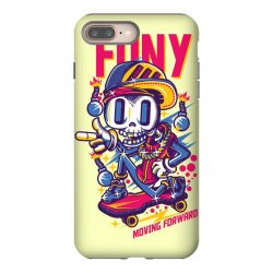 funny skate iPhone 8 Plus Case | Artistshot