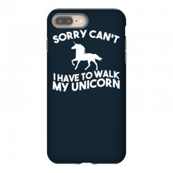 unicorn, television, funny, geek, humour, parody, retro iPhone 8 Plus Case | Artistshot