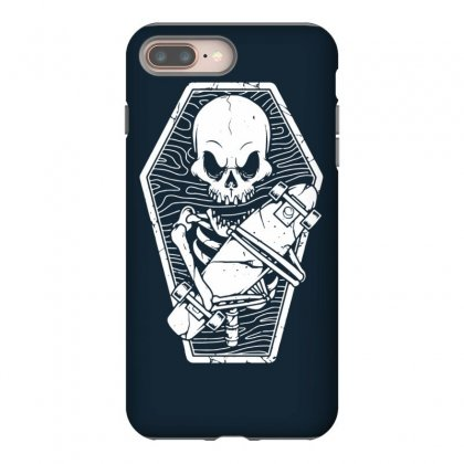 Skate Until The End Iphone 8 Plus Case Designed By Tonyhaddearts