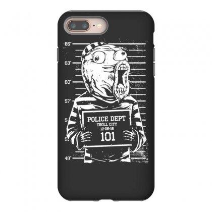 Lol Mughshot Iphone 8 Plus Case Designed By Tonyhaddearts