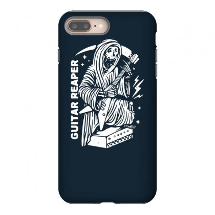 Guitar Reaper Iphone 8 Plus Case Designed By Tonyhaddearts