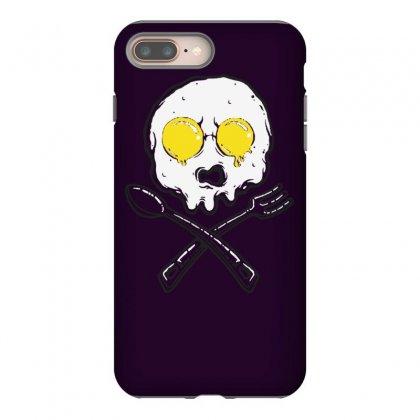 Eggskull Iphone 8 Plus Case Designed By Tonyhaddearts