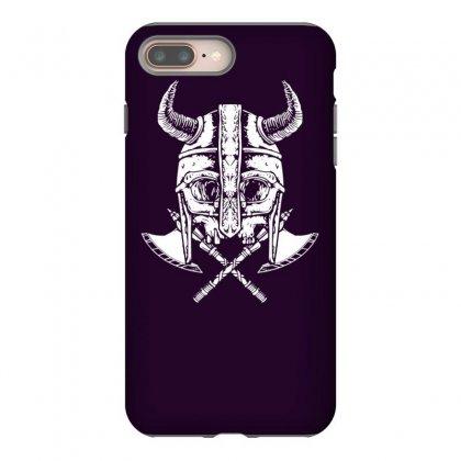 Death Viking Iphone 8 Plus Case Designed By Tonyhaddearts