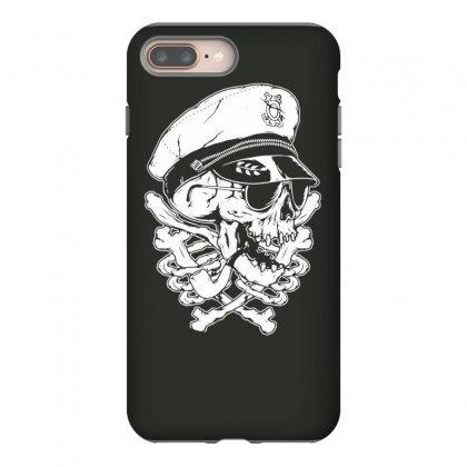 Death Skull Captain Iphone 8 Plus Case Designed By Tonyhaddearts