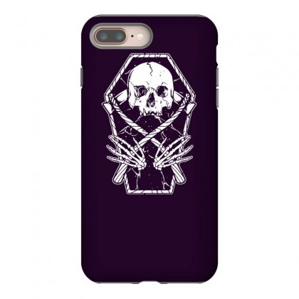 Coffin And Reaper Iphone 8 Plus Case Designed By Tonyhaddearts