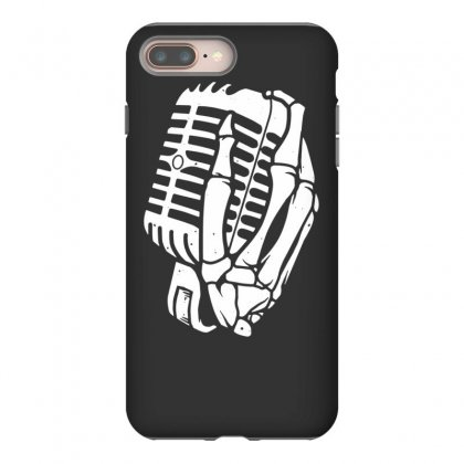 Death Hand Skull Singer Iphone 8 Plus Case Designed By Tonyhaddearts