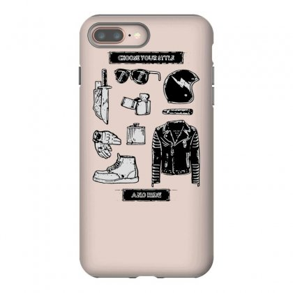 Choose Your Style Iphone 8 Plus Case Designed By Tonyhaddearts