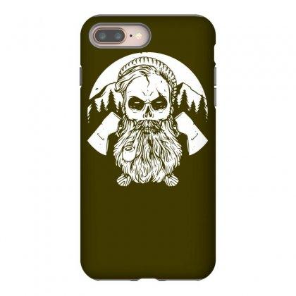 Beard Skull Hard Worker Iphone 8 Plus Case Designed By Tonyhaddearts