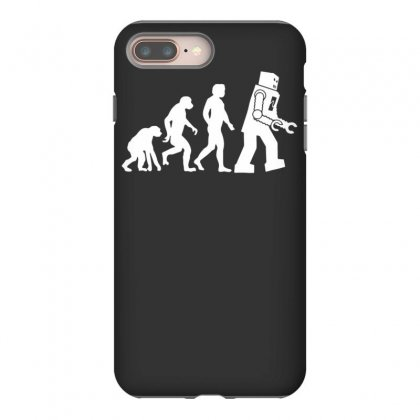 Robot Evolution Iphone 8 Plus Case Designed By Tonyhaddearts