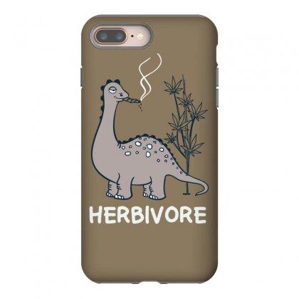 Herbivore Funny Dino Iphone 8 Plus Case Designed By Tonyhaddearts