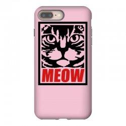 funny cat meow iPhone 8 Plus Case | Artistshot