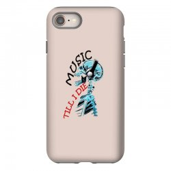 music till i die iPhone 8 Case | Artistshot