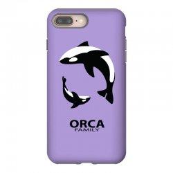 ORCA FAMILY iPhone 8 Plus Case | Artistshot
